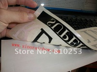 Custom Translucent Film Die Cut Transfer Sticker