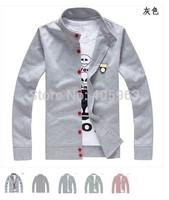 Mens Cardigan Sweater Mans 2015 Hot Fashion Cardigan Size M L XL XXL XXXL