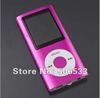 "Cheap wholesale New Slim 4TH 1.8""LCD MP3 MP4 Video Radio FM Player For 2GB 4GB 8GB 16GB SD TF Card free shipping"