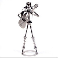 Iron man metal band combination crafts  11 musical instruments fascinating performance  fashion home decoration + free shipping