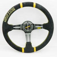 MOMO Deep corn  Sport Steering Wheel momo real leather steering whee wholesale and retailer