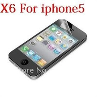 6pieces Screen Protector Cover Film for Apple New iPhone 5 iphone5