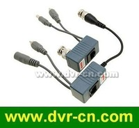 10 pairs/lot,Power,Video,Audio 3 in 1 CCTV RJ45 Passive Video Balun Over CAT5/5E/6 Cable