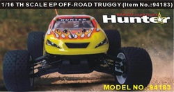 HSP 94183 1/16th Scale Electric Powered Off Road Truggy CAR +2.4G radio transmitter(China (Mainland))