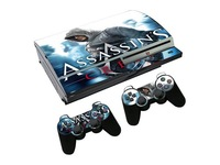 For Sony Playstation 3 FAT Assassins Vinyl Skin Sticker Cover  +2 Controller skin many type choose