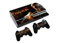 For Sony Playstation 3 FAT God of War Vinyl Skin Sticker Cover  +2 Controller skin many type choose