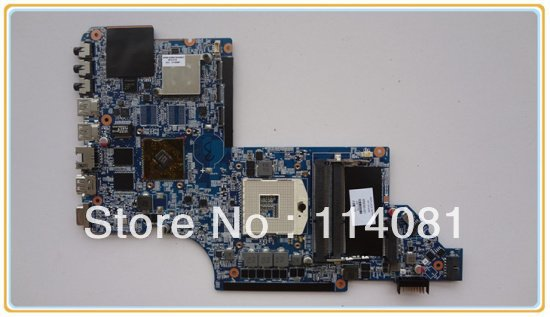 Материнская плата для ПК For hp 659093/001 mainboard hp dv7/6000 , 659093-001 575477 001 da0up6mb6e0 main board for hp pavilion dv7 3000 laptop motherboard pm55 ddr3 geforce gt240m