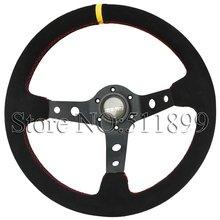 cheap momo suede steering wheel