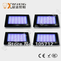 DHL/Fedex Fast Free shipping 4pcs/lot Dimmable LED Aquarium Lights according to different stages 55*3w LED Reef Aquarium Lights