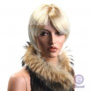 Hot sale Funny Soccer Fans Wig party , hair ballfans ,cheapest blonde wigs hot style