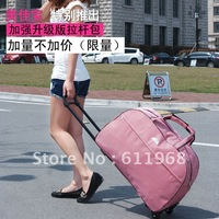 22 designs available Fashion trolley travel bag metal trolley portable luggage large capacity male Women FREE SHIPPPING