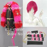 Alice in the Country of Hearts Boris Airay Cosplay Costume full set + wig Halloween eli0362-C