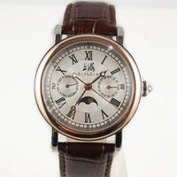 Watch automatic mechanical watch fashion rose gold fashion Men