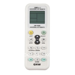 Universal LCD Remote Control for Air Conditioner free shipping(China (Mainland))