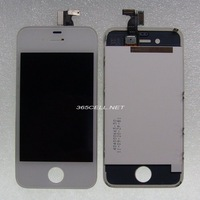 Free shipping 100% new for iPhone 4 LCD and digitizer touch panel assembly black and white color