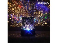 Free Shipping 2014 fashion hot Gifts led Romantic Projector Lamp night light constellation lover star master