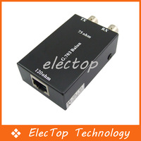 G.703 75 Ohm to 120 Ohm Balun BNC/Ethernet Network Adapter Converter 50pcs/lot Wholesale