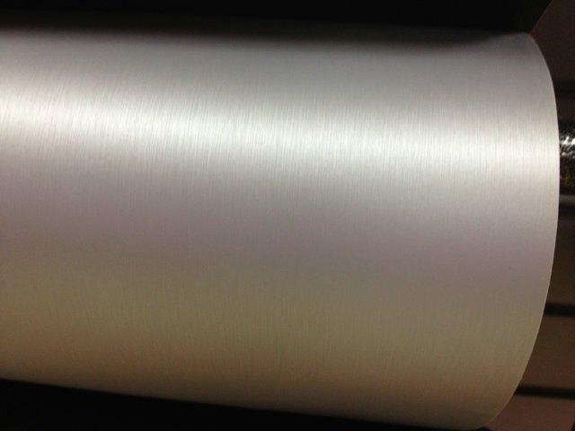 Metal brushed aluminum pattern 3D drawing change color film drawing change color film body to change color on paper(China (Mainland))