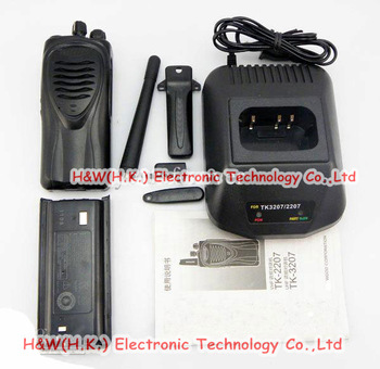 5pcs/lot  Walkie Talkie TK-3207 UHF FM  two way radio 5W high power