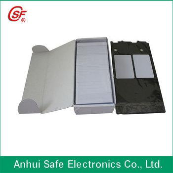 proximity RFID pvc card (inkjet printable )  100pcs