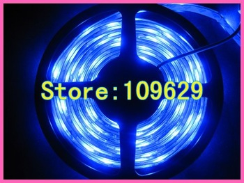 5M/lot SMD 3528 Waterproof LED Strip,60LEDs/m LED Stripe for Holiday White/Red/Blue/Green