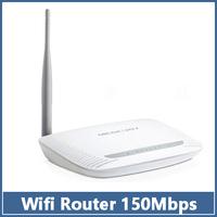MOQ 1pcs Wifi Wireless Router MERCURY MW150R 150Mbps 11N 802.11b/g/n 4-Port  Lan Broadband  White  free shipping