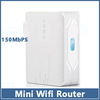 1pcs Wifi Wireless Router  White Fast FW150RM Mini 150Mbps Access Point Travel Portable IEEE 802.11b/g/n DSL Broadband N