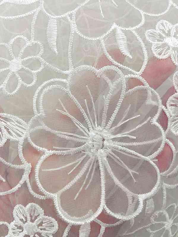 materials for a wedding dress