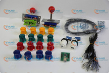 Arcade parts Bundles kit With Joystick,Pushbutton,Microswitch,2 player USB to Jamme board to Build Up Arcade Machine By Yourself(China (Mainland))