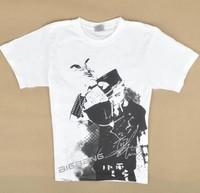 Clearance!  BB Bigbang member TOP short sleeve  fashion  t-shirt white clothes kpop k-pop
