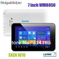 Freeshipping Cheap 7 inch MID  WM8850  Android 4.0 Dual Camera HDMI 512MB/4GB  EKEN W70