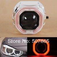 """2014 New Arrival 2pcs 2.5"""" G5C Bi- Xenon HID Projector Lens Kit  square Angle Eyes Free shipping"""