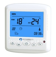 LCD thermostat for air conditions electric heater