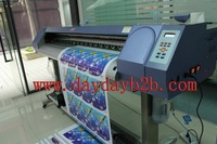 outdoor advertising signs vinyl banner leather printer with Best Brand 1.8M