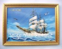 Feng Shui 3D SAILING SHIP for Wealth,Success Weatlh Ship