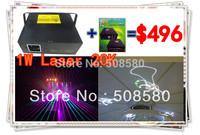 1W RGB Laser 20K+iShow Software+R350,G150,B500