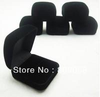 Wholesale High Quality 20pcs/lot Romantic Wedding Velvet Ring Box 58x53x34mm Jewelry Packaging Ring & Gift Box Free Shipping