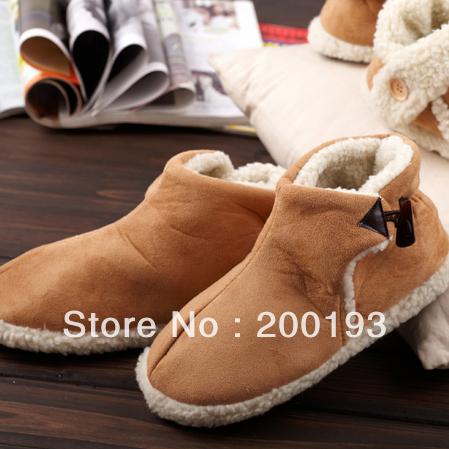 улыбка рынка! 1pairs/много моды унисекс дома теплая обувь и зимние сапоги
