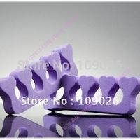 Free Shipping - 100 pcs Nail Toe Finger Separator Manicure Pedicure tool