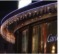 A3ag led christmas lights curtain 0.6x4m size wedding decoration supplies garden lights led string lighting