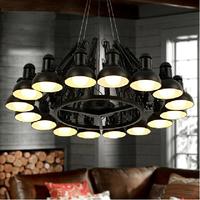 Modern 9 Lights Ceiling Light Chandelier Scaleable Spider Pendant Lamp Moooi Ron