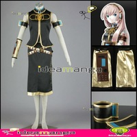 [ideamanga]Manga Amime V+ VOCALOID Formula Megurine Luka woman girl's Cosplay Costume Female halloween party dress Any Size