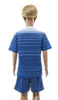 Free shipping-Wholesale 2014/15 season Club Kids long sleeve jersey&short,Youth soccer uniforms,5Pcs/Lot