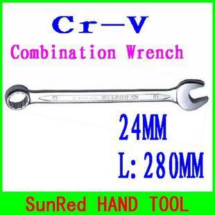 Гаечный ключ SunRed BESTIR qaulity 24 cr/v , no.50124 комбинированный трещоточный гаечный ключ cr v 12мм зубр профи 27074 12