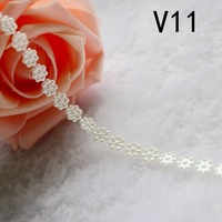 Free shipping  Imitation pearls chain flatback  resin  material many styles to choose