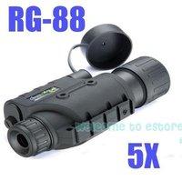 Free Shipping!!Brand Infrared Dark Night Vision IR Monocular Binoculars Telescopes 200 Yards 5X