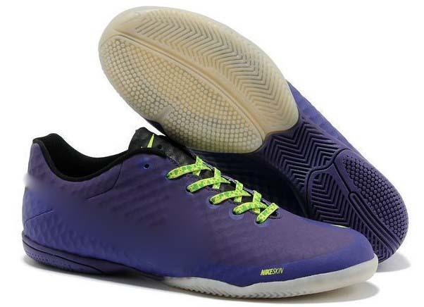 Rouge chaussures de soccer int rieur promotion achetez des for Chaussure de soccer interieur