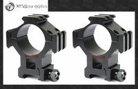 Vector Optics Tactical 35mm Ring Triple Rails Weaver Scope Mount 21mm Base