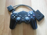 3 in 1 with vibration wireless controller  for  PC PS2 PS3