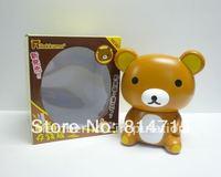 Plastic Bear Cartoon Money Box